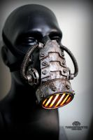 The incinerator wasteland version - LED respirator by TwoHornsUnited