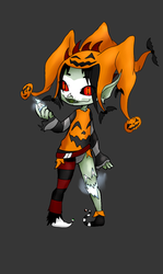 (open) Halloween Event Day 6: Halloween Jester by Qu-Ross