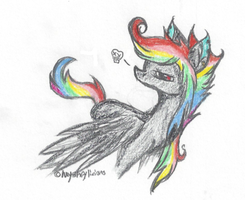 These wings are meant for flapping . by Myshferific