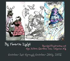 October Show Promo, 'By Faerie Light' by rachelillustrates