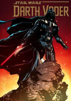 Darth vader Cover by ComicFace
