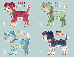Zodiac Sign Dog Adopts AUCTION by Fayven