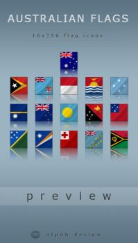 Australian Flags by alpak