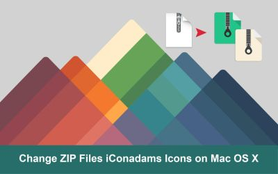 FREE Change ZIP File iConadams Icons on Mac OS X by valvator