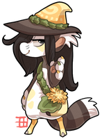 #466 Floral Bagbean w/m - Coltsfoot by griffsnuff