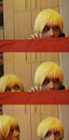 1P Vs. 2P-Talia: Hiding place. by Invader-Jay