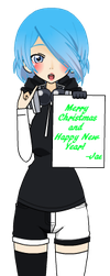 Happy New year/Merry Christmas! by zZJinxZz