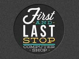 First and Last Computer Shop Logo by LoveLustLost