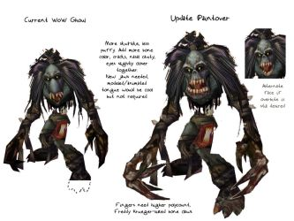 WoW Ghoul Update Paintover by xiaorobear