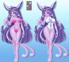 ADOPT: Espeon (CLOSED) by MetalPandora