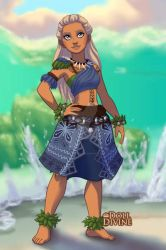 Human version of the sea by wolfgirl501