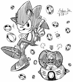 .:Doodle Request:. Rings, Emeralds, and Chili Dogs by Josh-S26