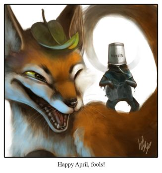 Happy April you fools by Silverfox5213