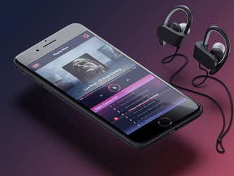 #DailyUi: #009 Music Player by GFX-SeeYa