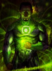 Green Lantern by LouizBrito