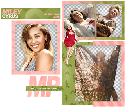 PACK PNG 983  MILEY CYRUS. by MAGIC-PNGS