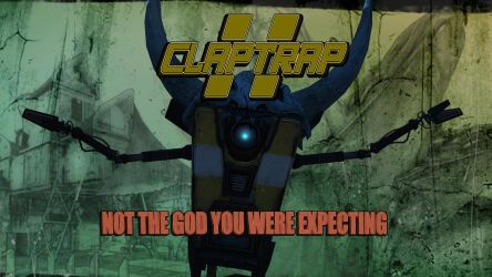 Clap Trap Borderlands 2 by BL4UPUNKT