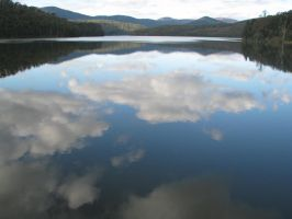Clouded reflections by velvetlea