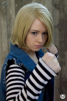 DragonBall Z: Android 18 by VandorWolf