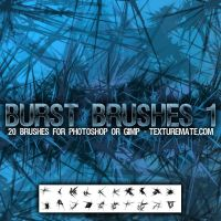 Burst Brushes 1 by AscendedArts