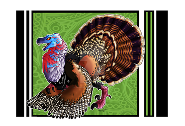 Custom bird raptor Turkey by Savage-Mojo