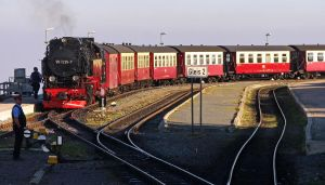 Brocken Steam Railway by UdoChristmann