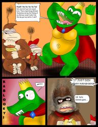 King K Rool's really good day by kingofthedededes73