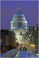 Millennium To St.Pauls by andy-j-s