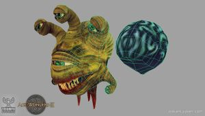 Age of Wonders 3 Beholder Wires by OskarKuijken