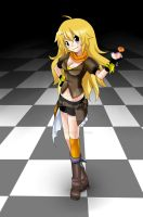 RWBY: Yang by Final-Boss-Emiko