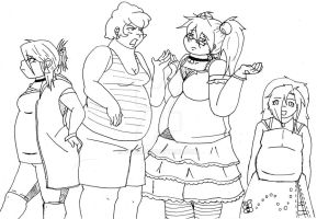 Fat People 1 by puriq