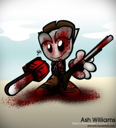 Ash Williams by Alforata