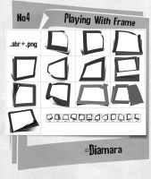 Playing With Frame No4 by Diamara