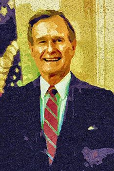 George Bush by peterpicture