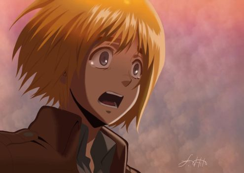 Armin Arlert by FinDaSlaya