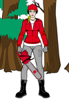 College football fangirl woodcutter Georgia by Usaporkchops