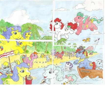 Mlpcalendar July by foxspotted
