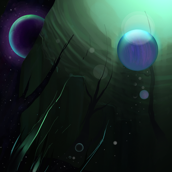 Bubble Planets by Amarick