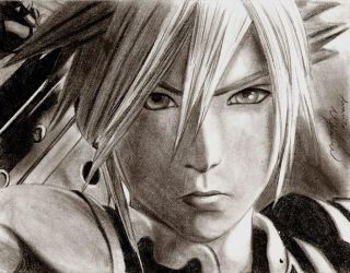 Dissidia 012 - Cloud Strife {REVISED} by ChronicleArtist