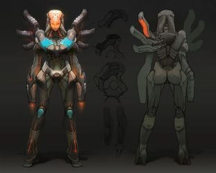 Character Design for Video Games by MarcBrunet