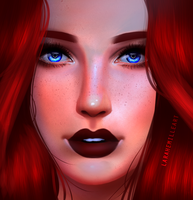 Red by LaraHemille