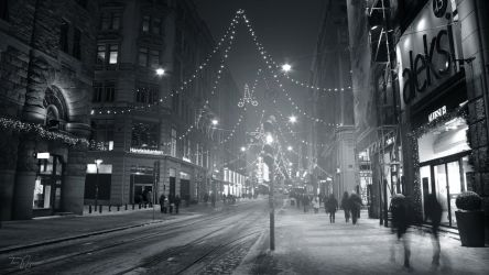 Winter streets by Pajunen