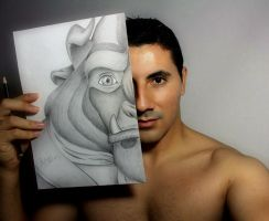 The Other Side (Beast Disney) by filipeoliveira