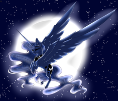 Luna (Open Collab edited) by GillianBravepie