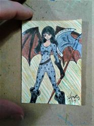 ACEO #77 anime series by ShelandryStudio