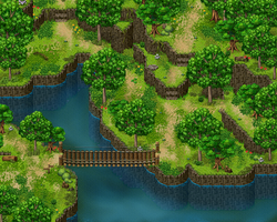 Forest 3 RPG Maker Parallax Practice by Sillouete