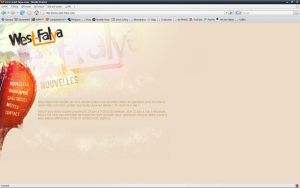 West-Falya website by insame