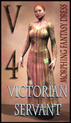 Victorian Servant for Morphing Fantasy Dress by mylochka