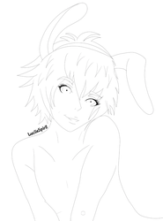 WIP - Easter Mari by LuciieSpirit
