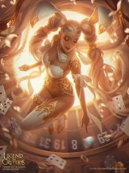 Legend of the Cryptids - Gambling Goddess by Viccolatte